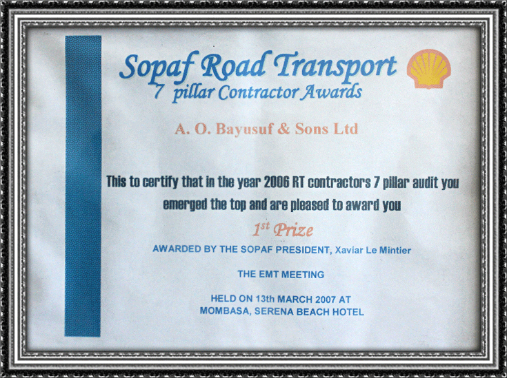 Sopaf Road Transport