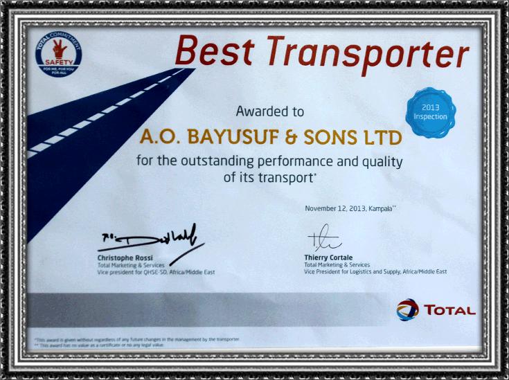 Best Transporter