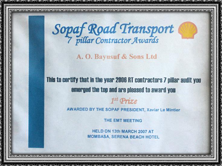 Sopaf Road Transport